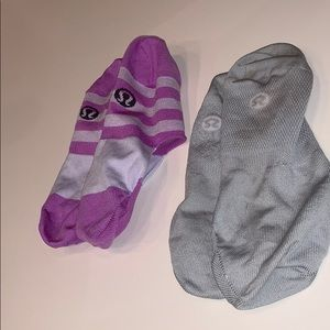 Lululemon no show socks